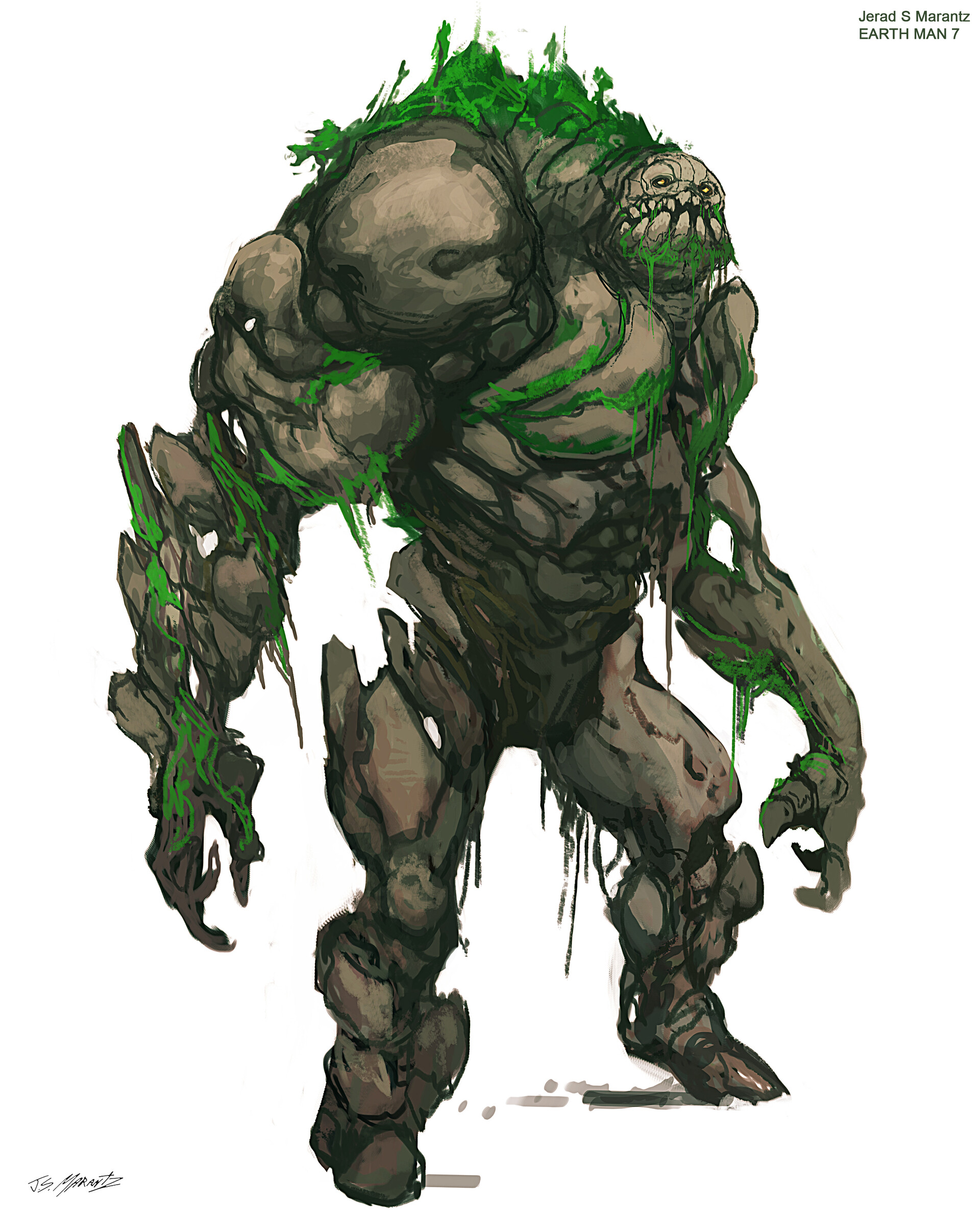 Jerx marantz earth man sketch 7