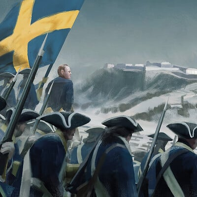 Erik nykvist erik nykvist the siege of halden norway 1718 04