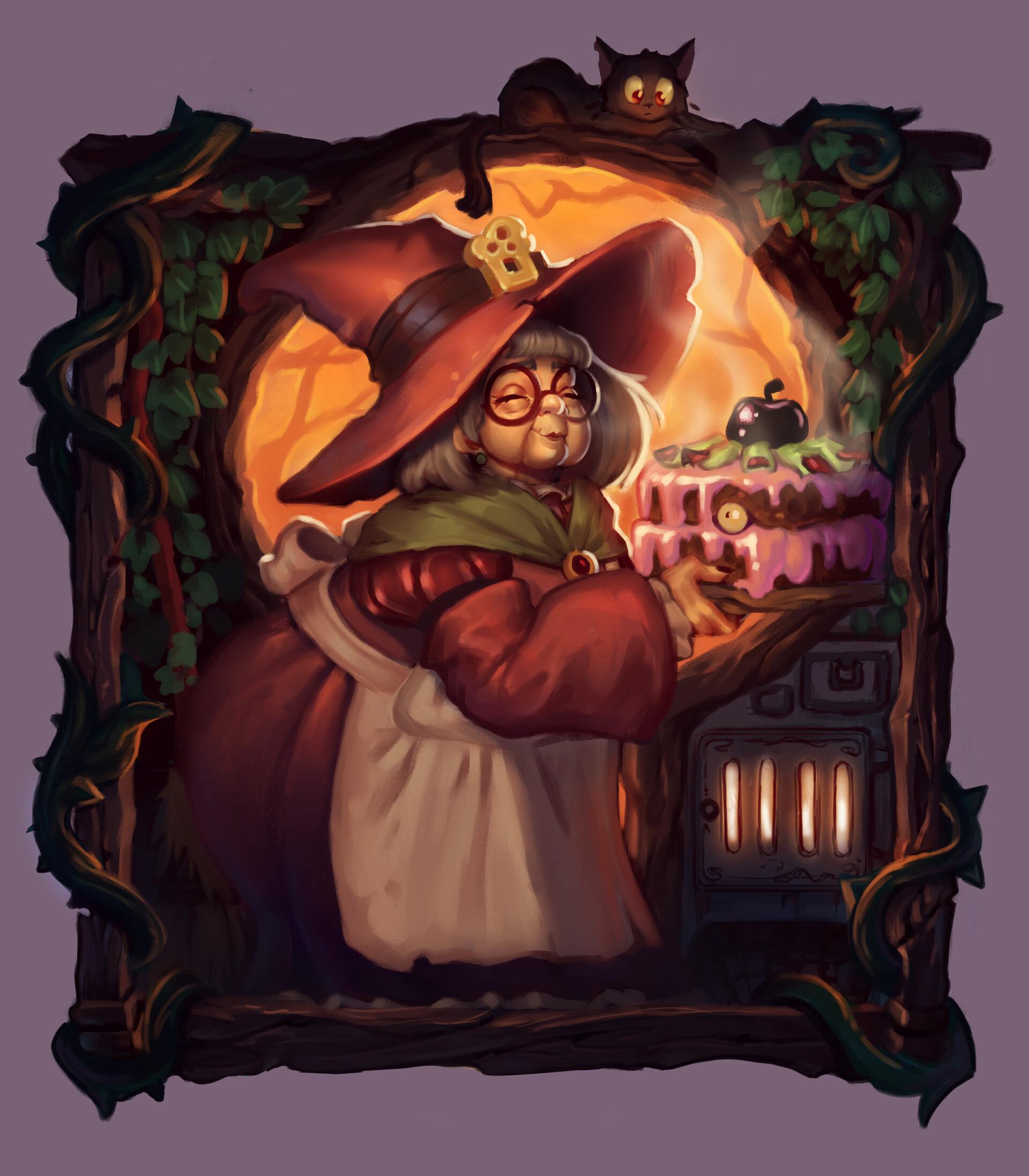 Anthea zammit granny evil cake