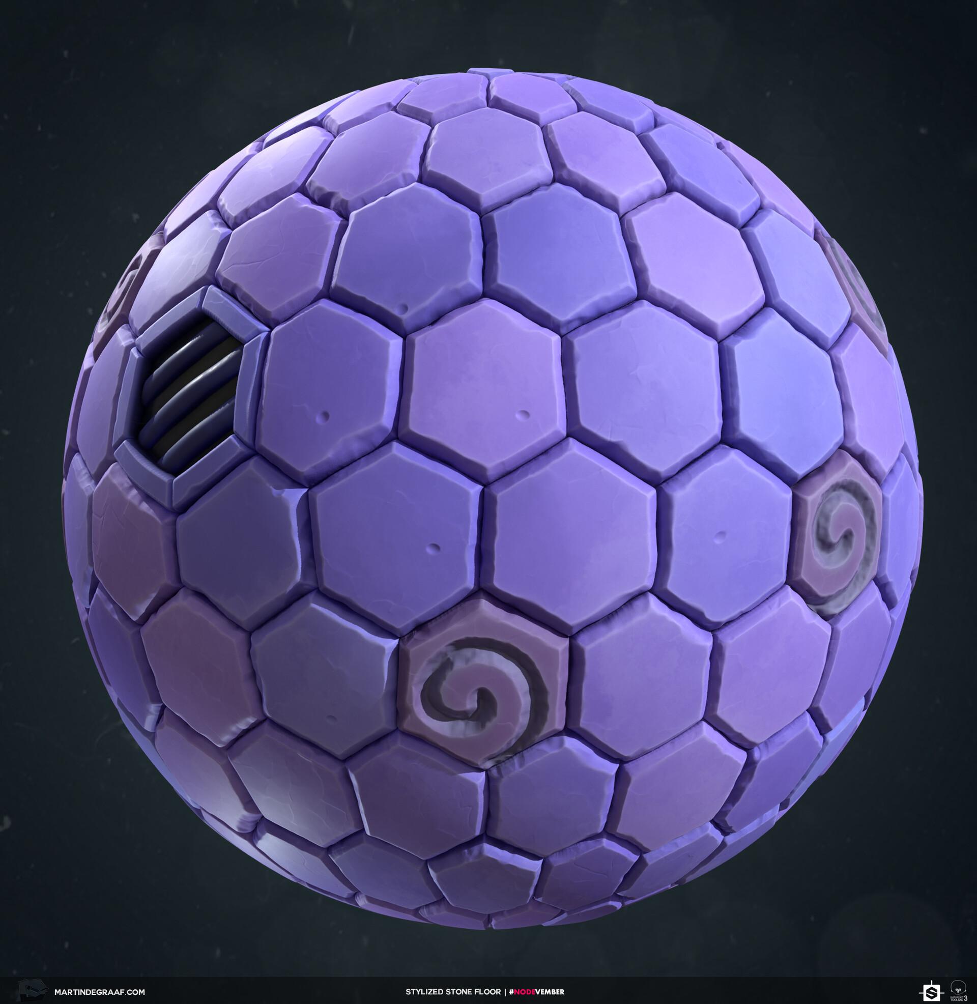 Martin de graaf stylized stone floor substance sphere martin de graaf 2019