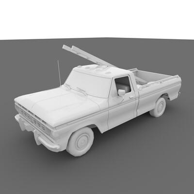 Nathan clark truck