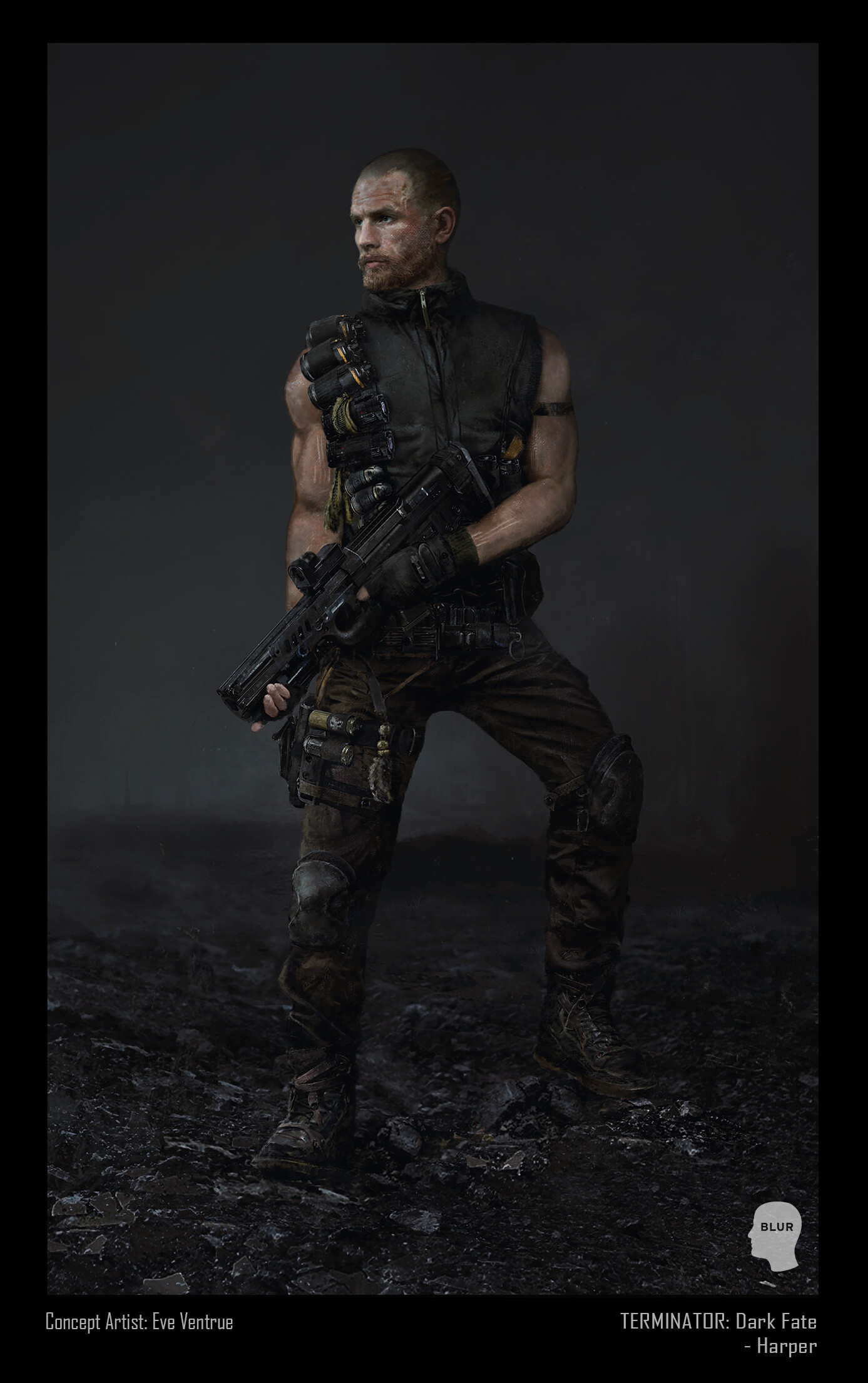 Concept Art And Logan Terminator