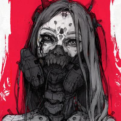 Ewa labak twarz cyborg22