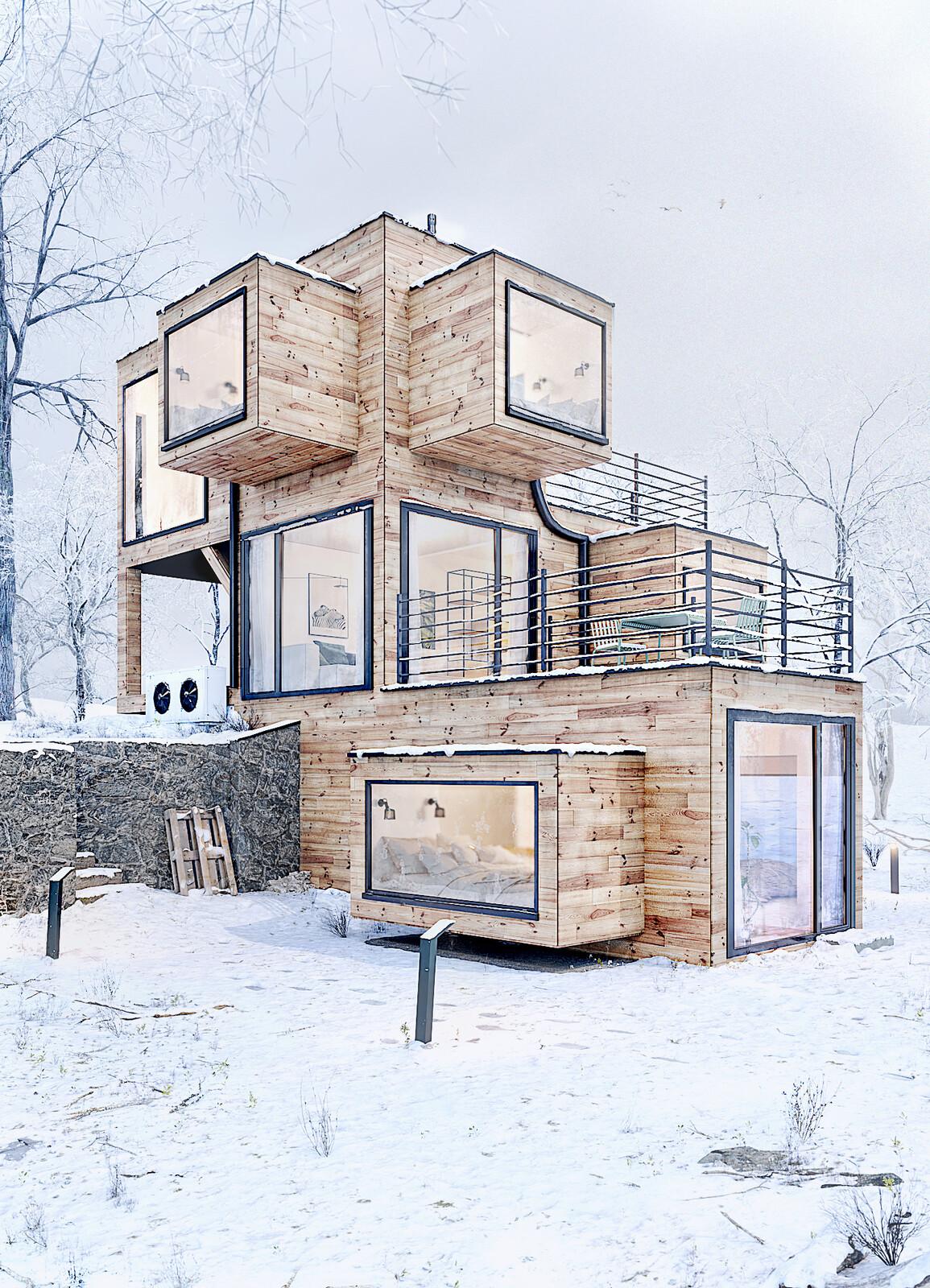 Szuflandia Apartments / Brandys Design X Snow