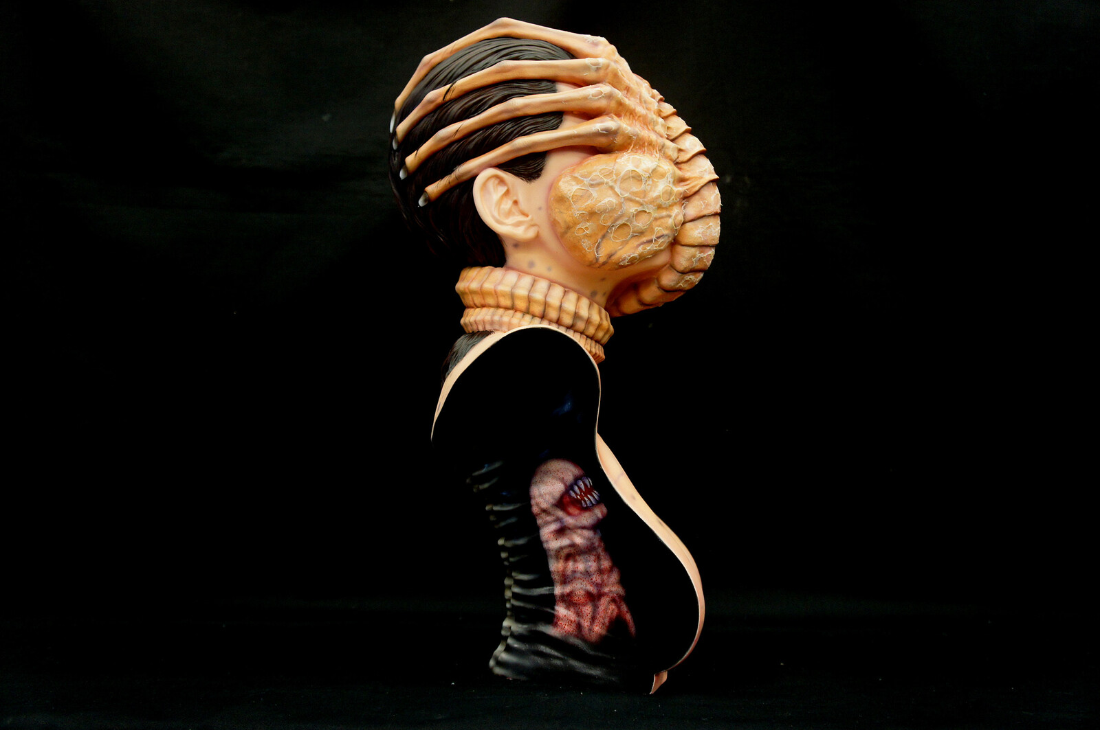 Alien Facehugger The Colonist 1:1 scale Bust Art Statue