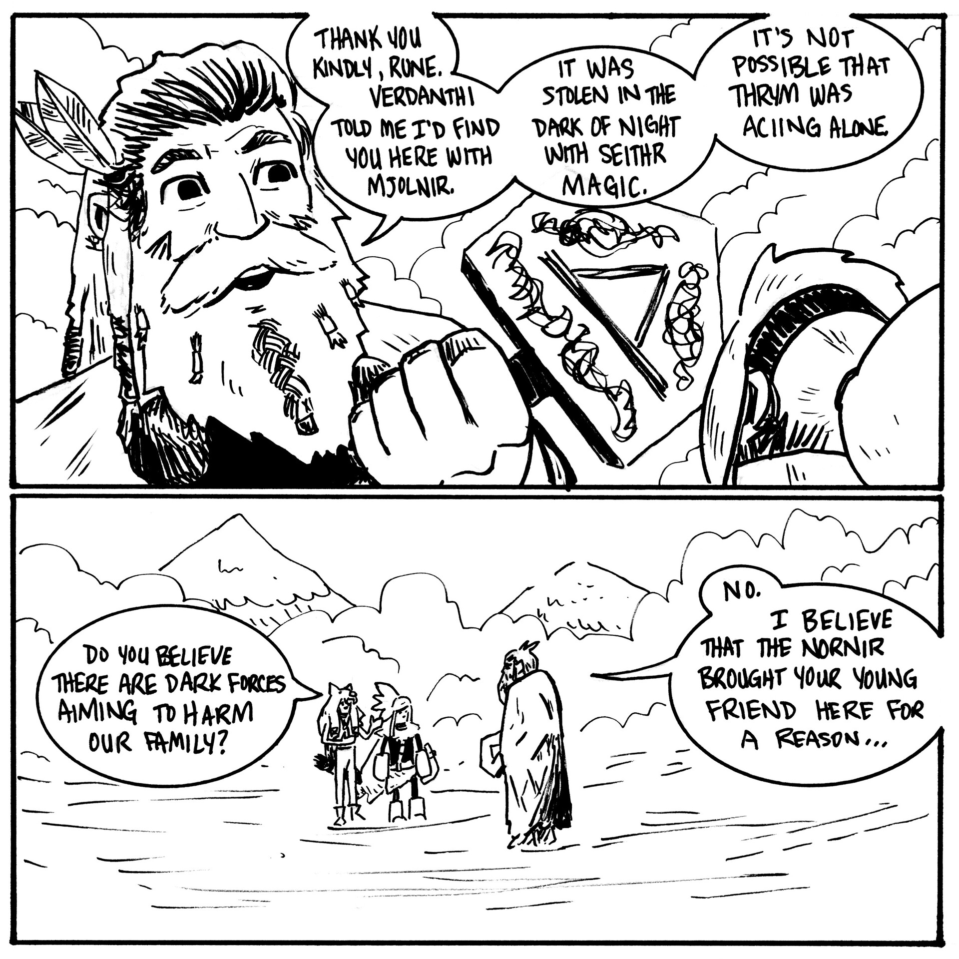 The Legend of Rune Page 30