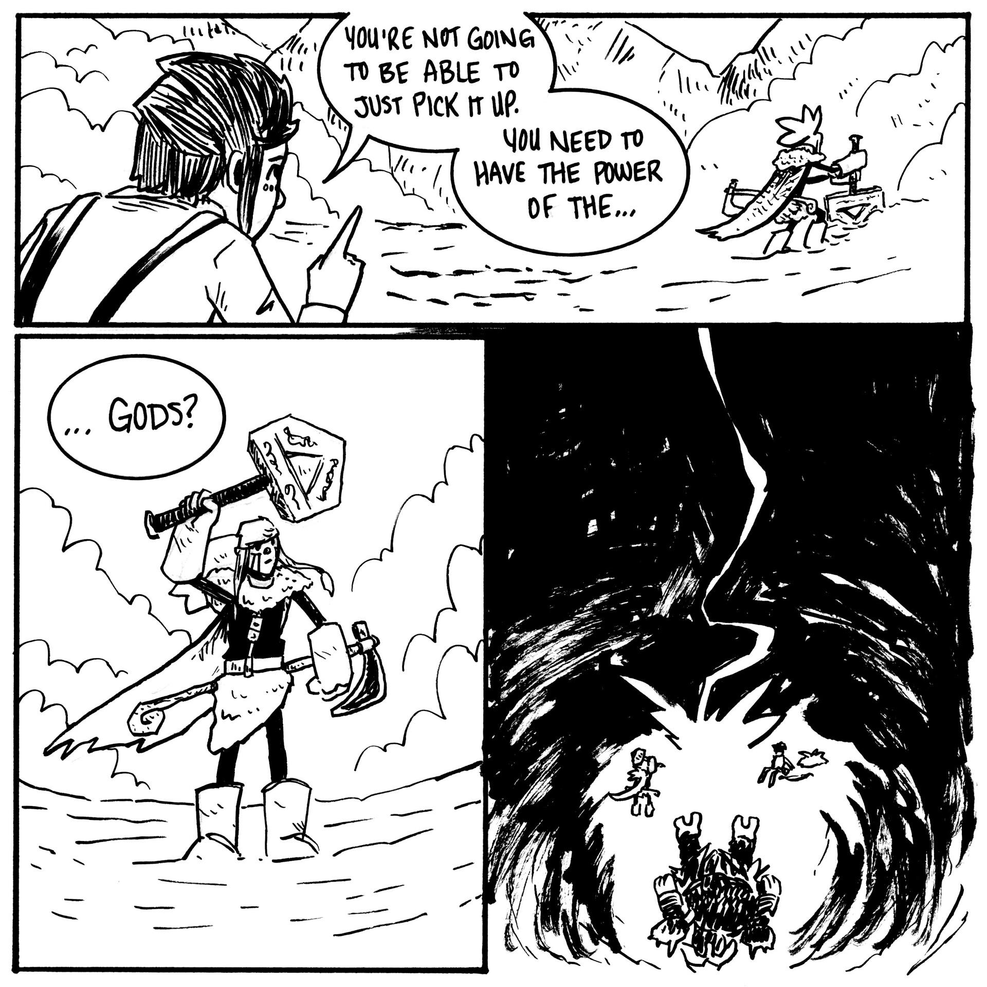 Randy haldeman rune inktober page 28