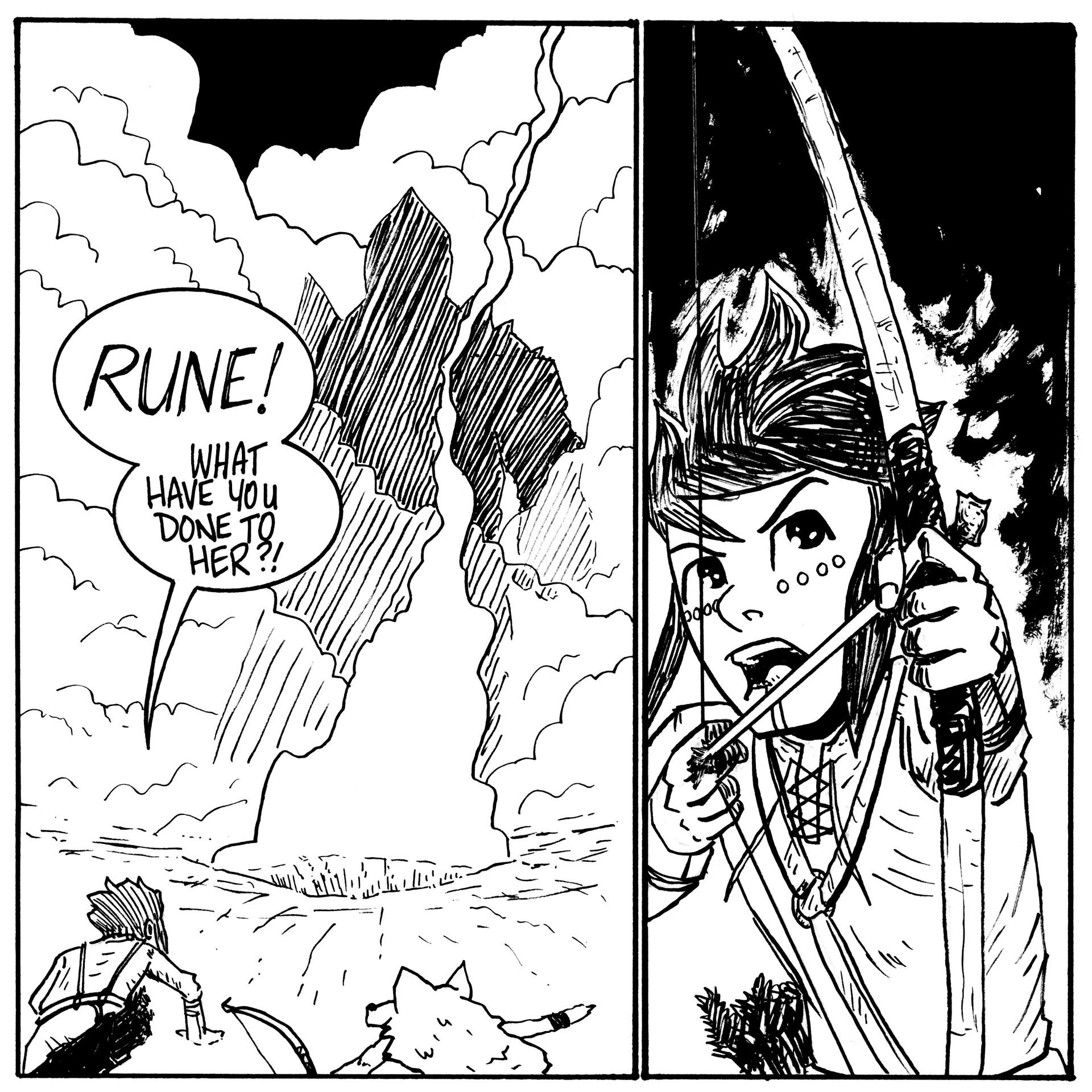 Randy haldeman rune inktober page 24