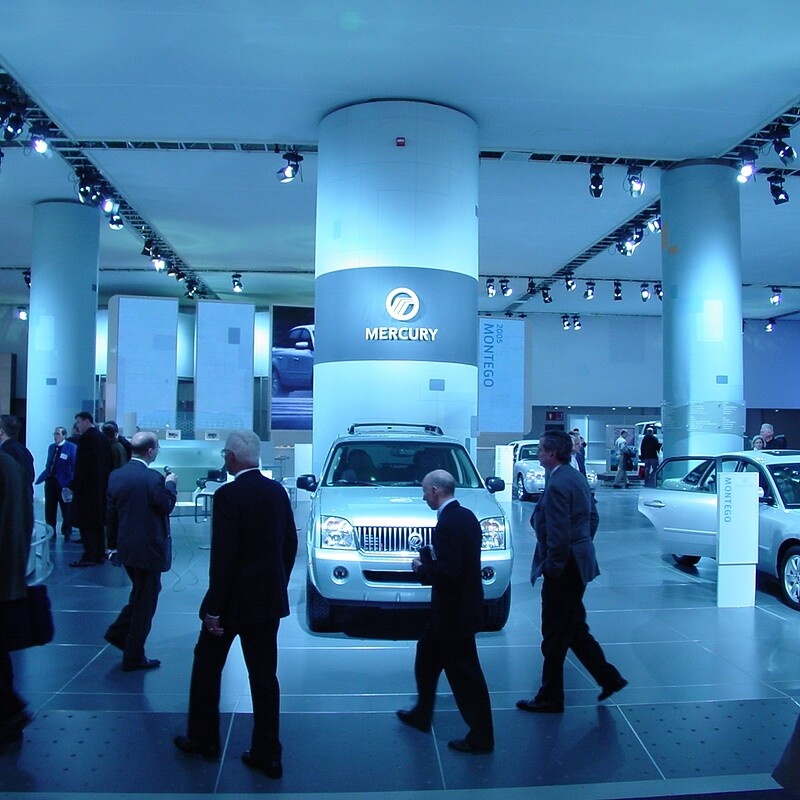 Mercury NAIAS Booth