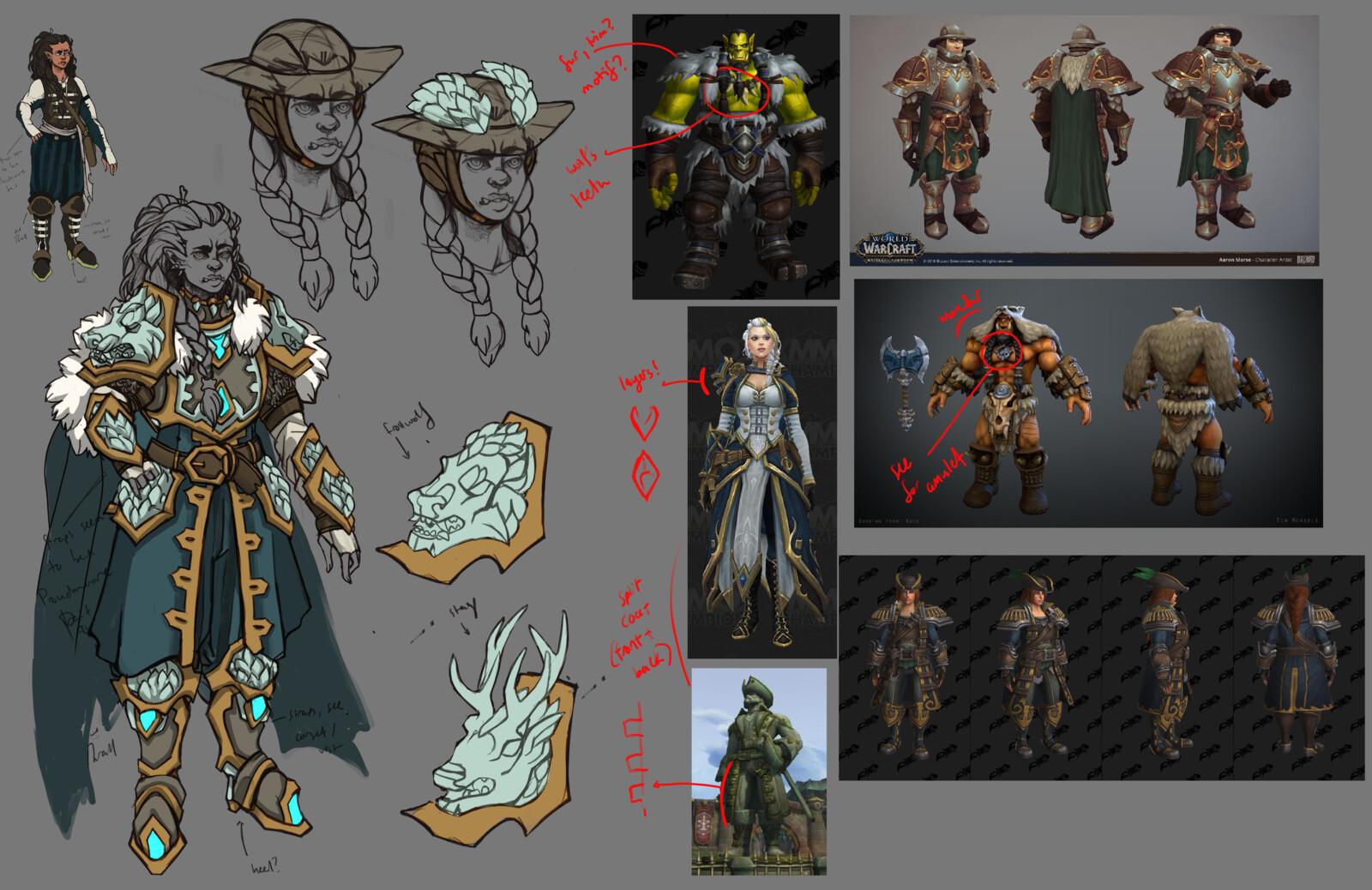 World of Warcraft: Thrall/Jaina child fan concept