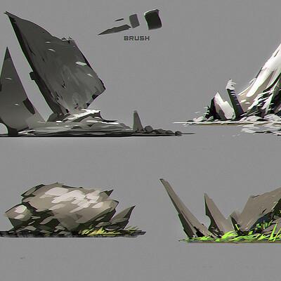 Benedick bana rock concept designs lores