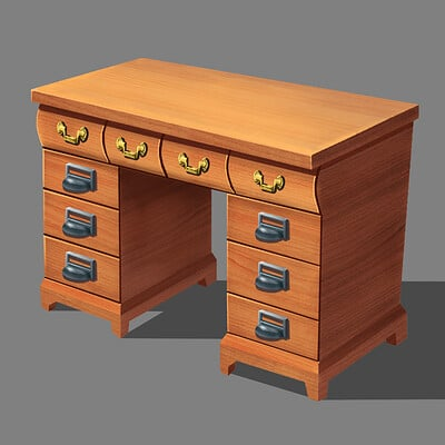 Edwardian Era Office Desk