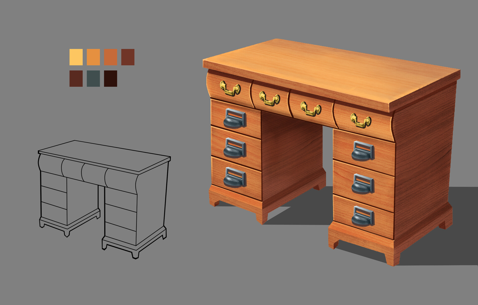 Hyeong joon choi paint for props 3