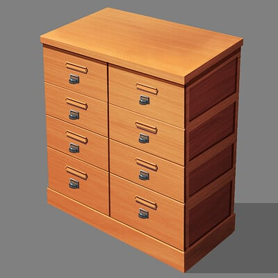 Edwardian Era File Cabinet Ver.2