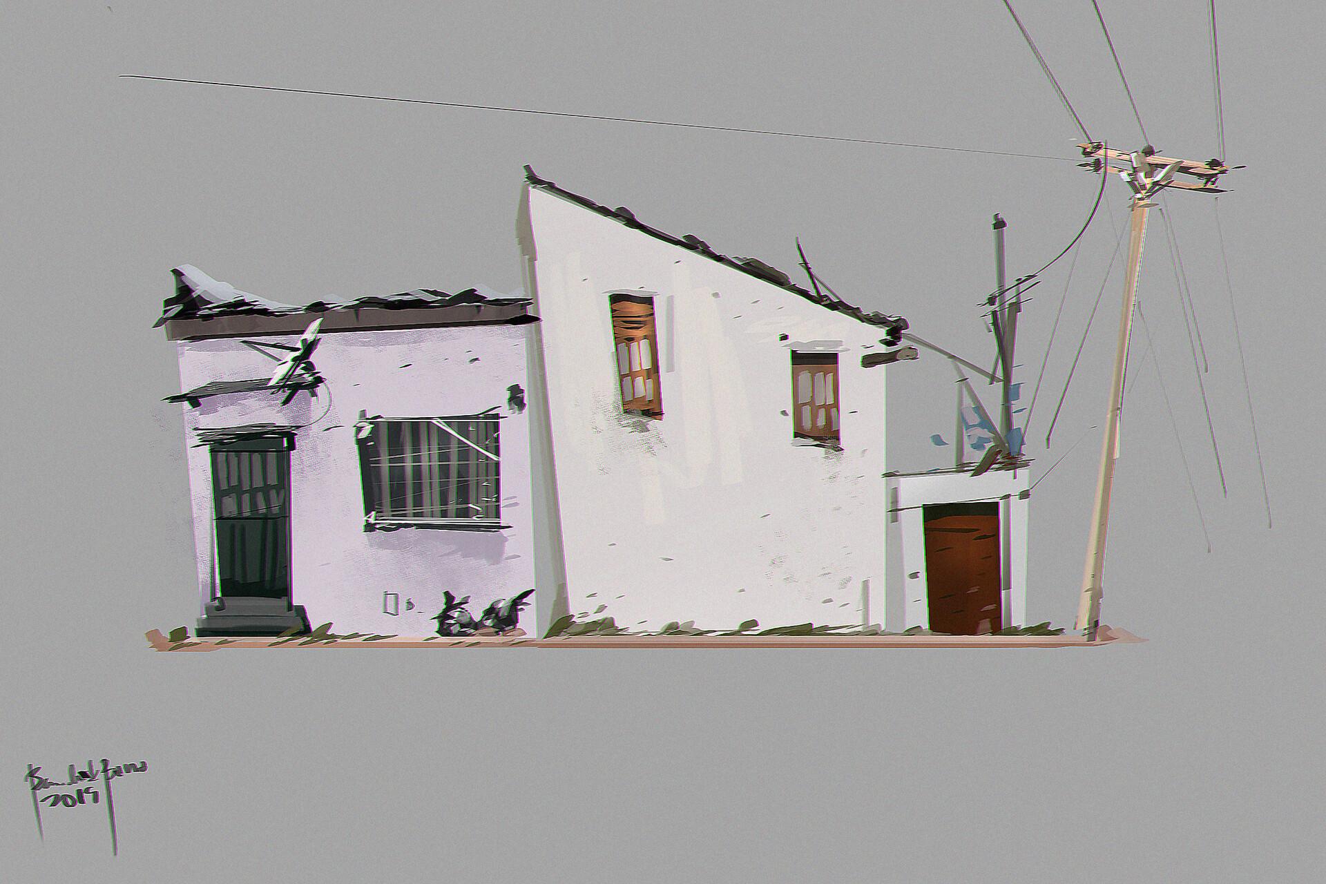 Concept Art House Urban