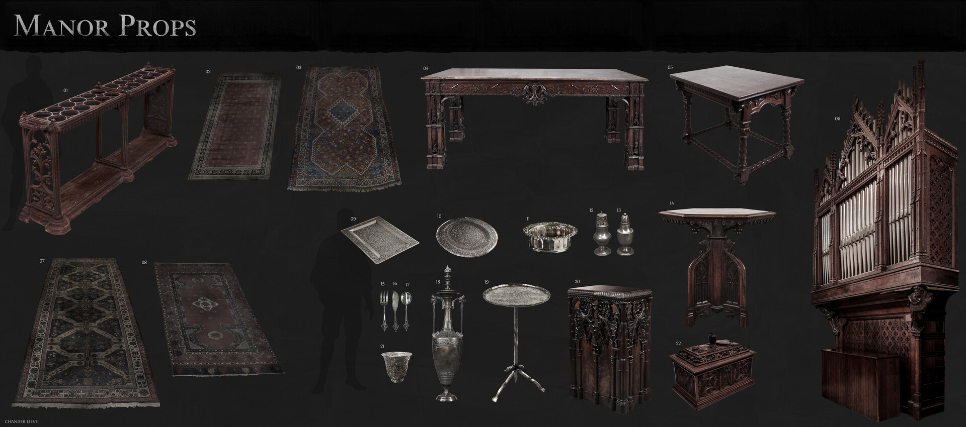 Chander lieve manor props 3