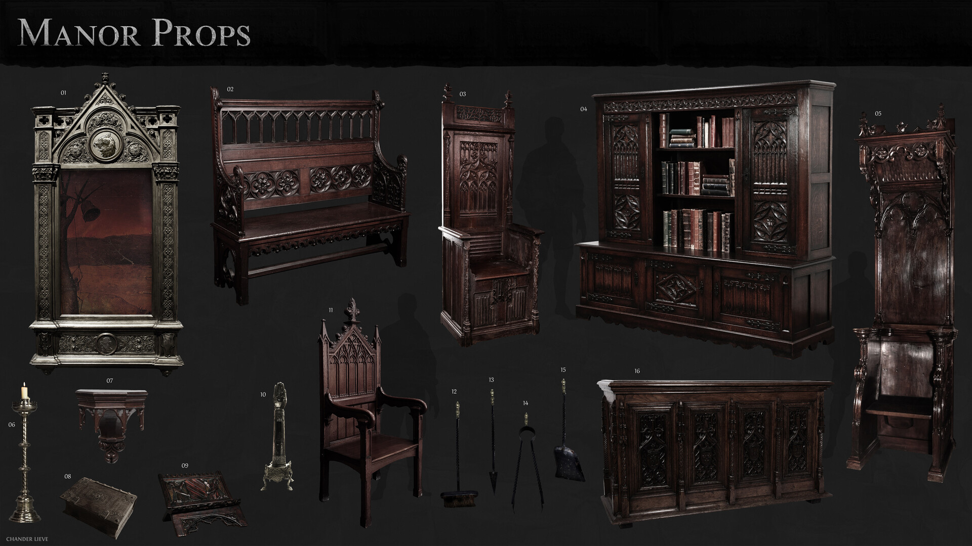 Chander lieve manor props 2