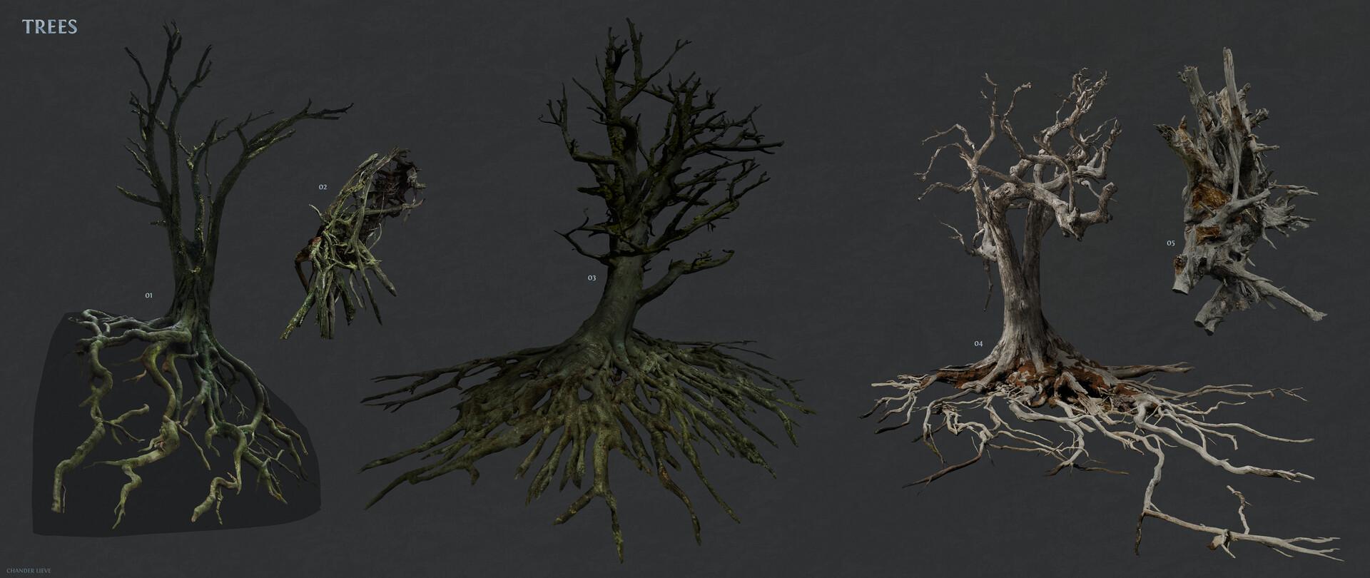 Chander lieve trees