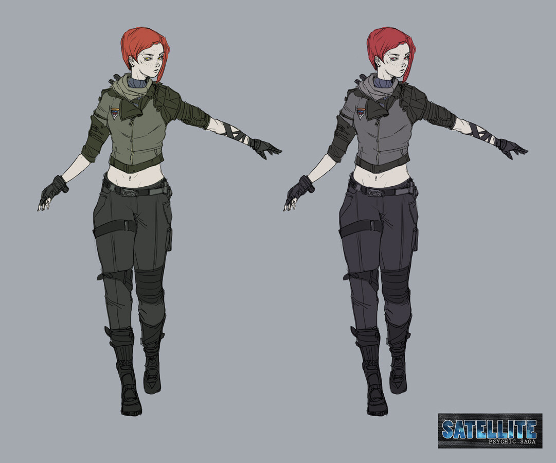 Gemina Flynn Concept Art - 2019