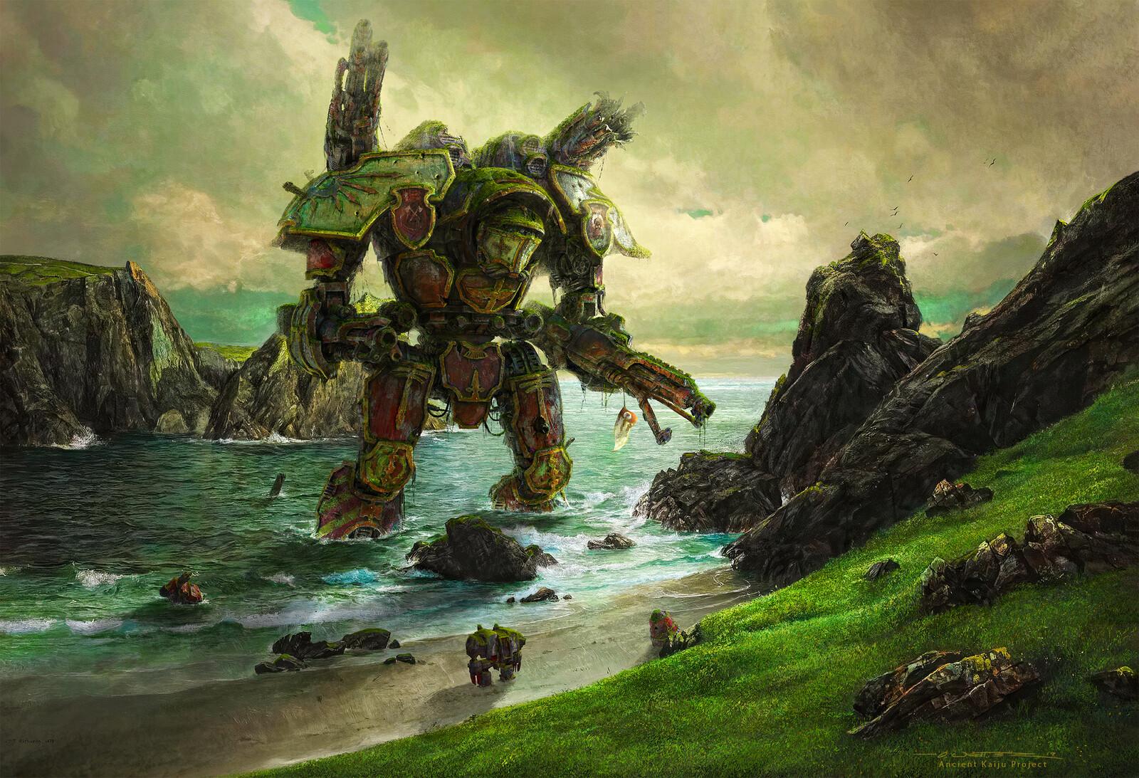 Stranded Warlord Titan