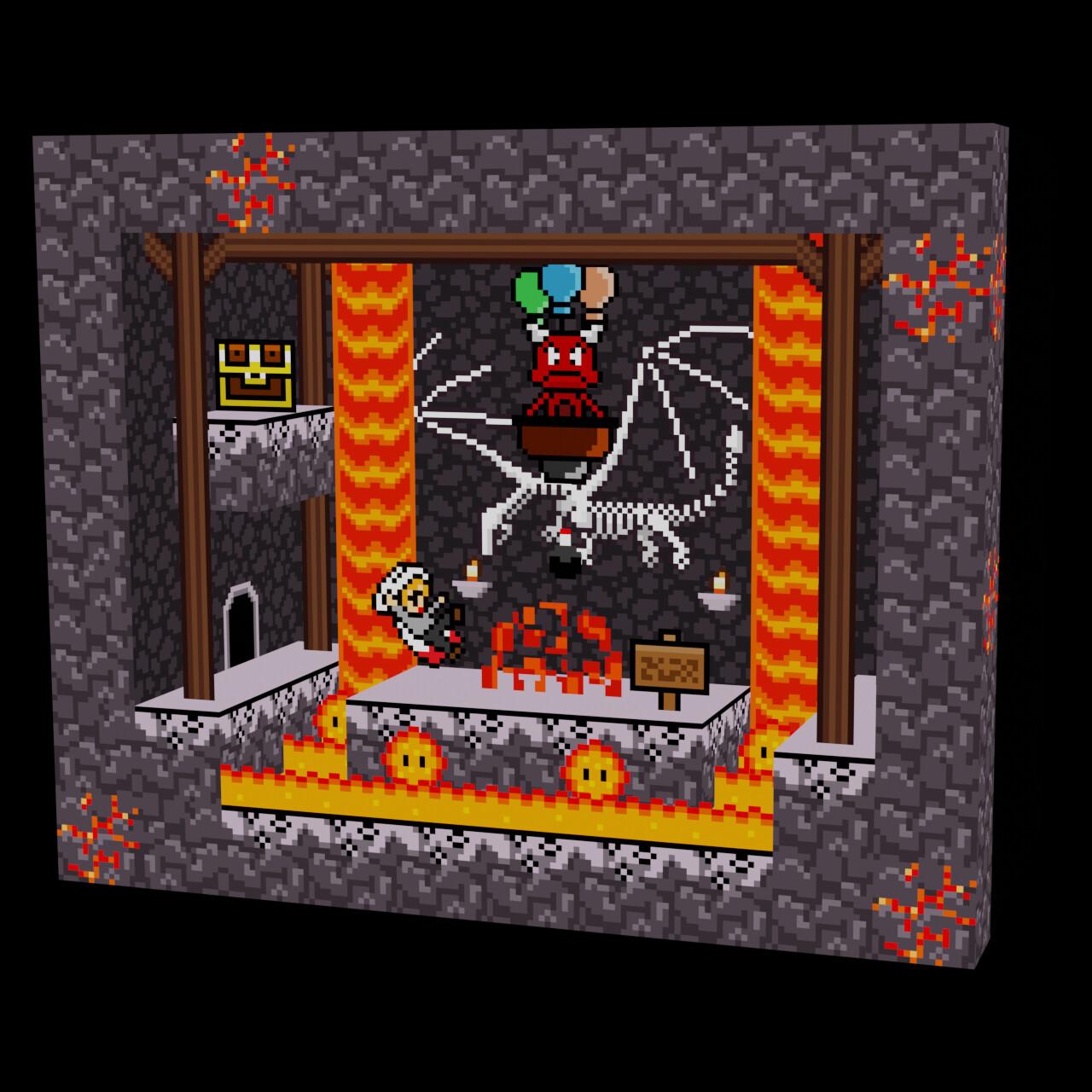 Magick - Chapter 2 (Diorama 3D)