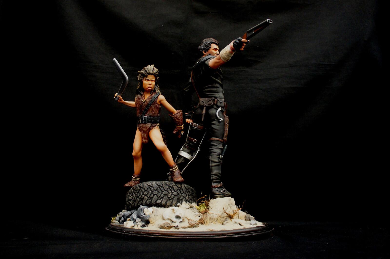 Mad Max Mad Max The Road Warrior Art Statue