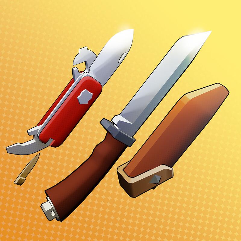 Knives - Work In Progress