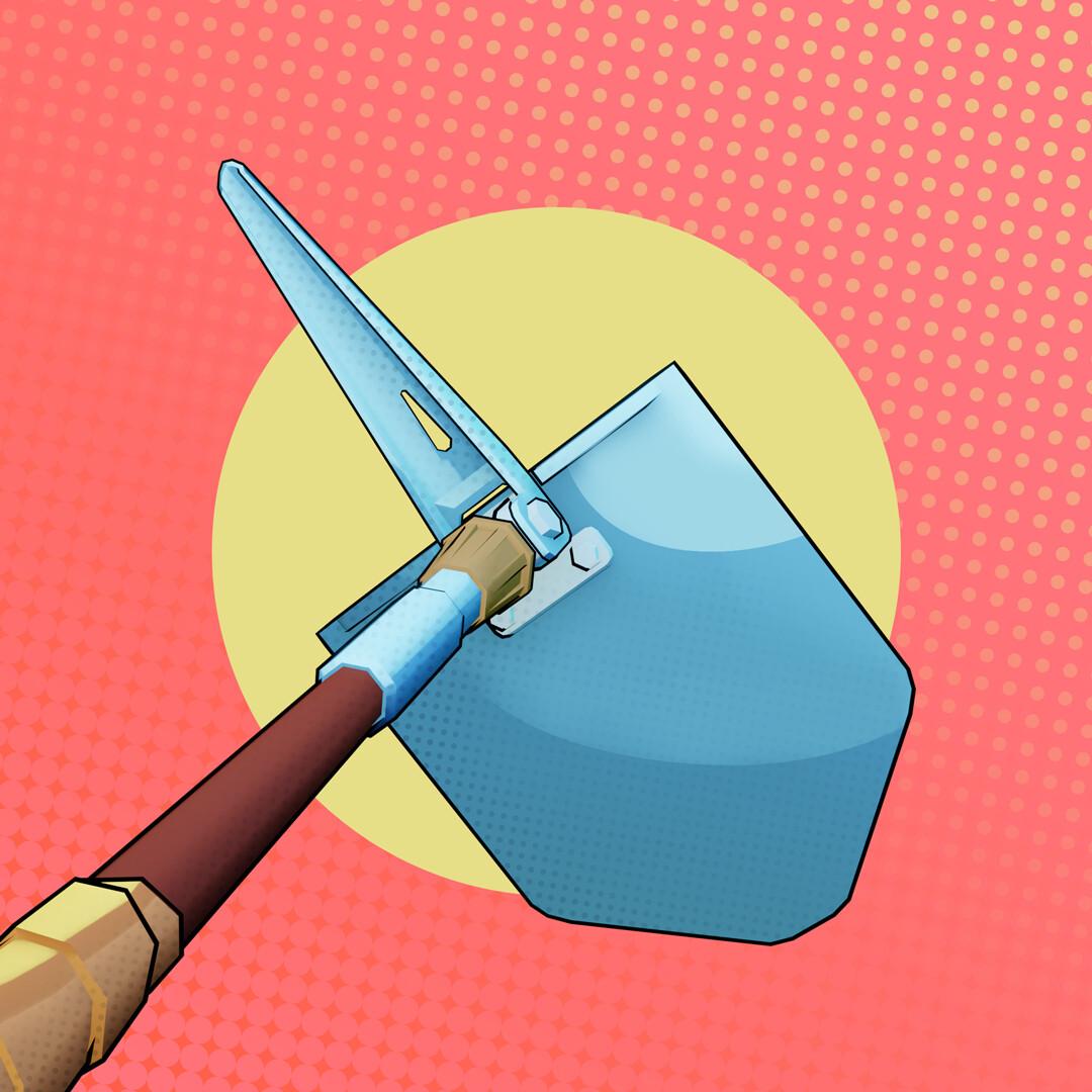 Tidal flask studios wip shovel 04