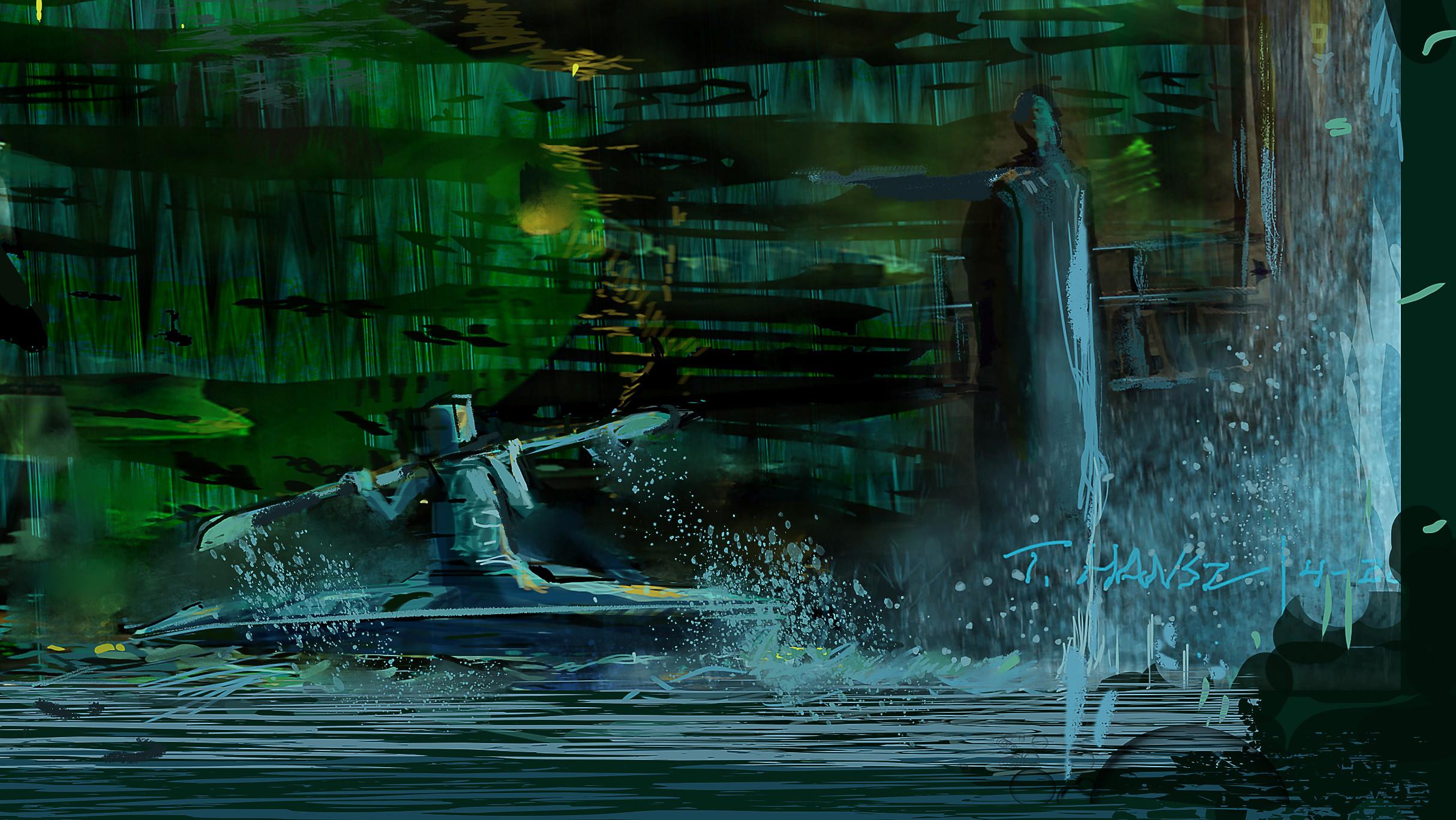 Robot Kayaking.