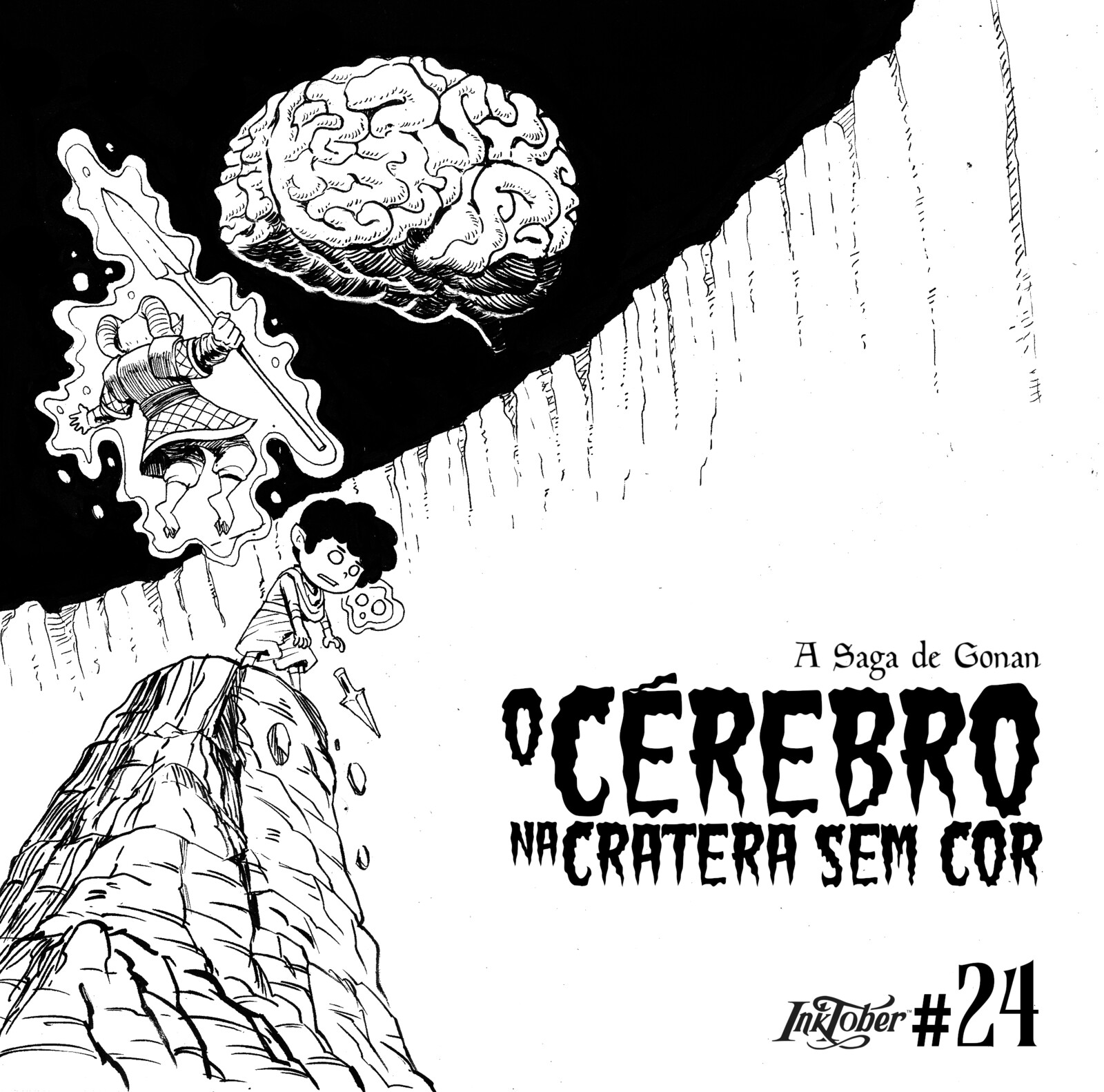 24- The Brain in the Colorless Crater