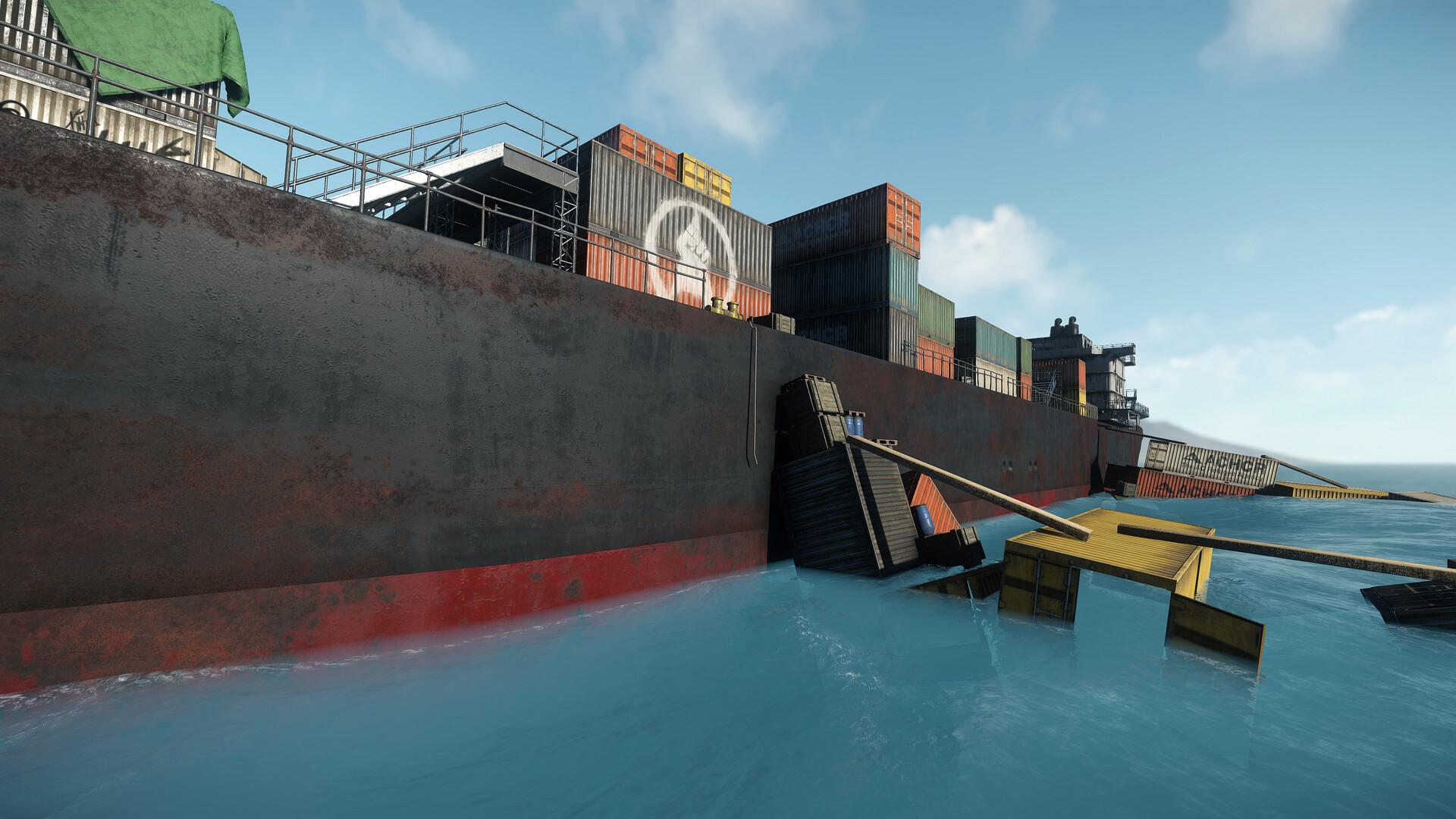 Carl kent oil tanker 14v2