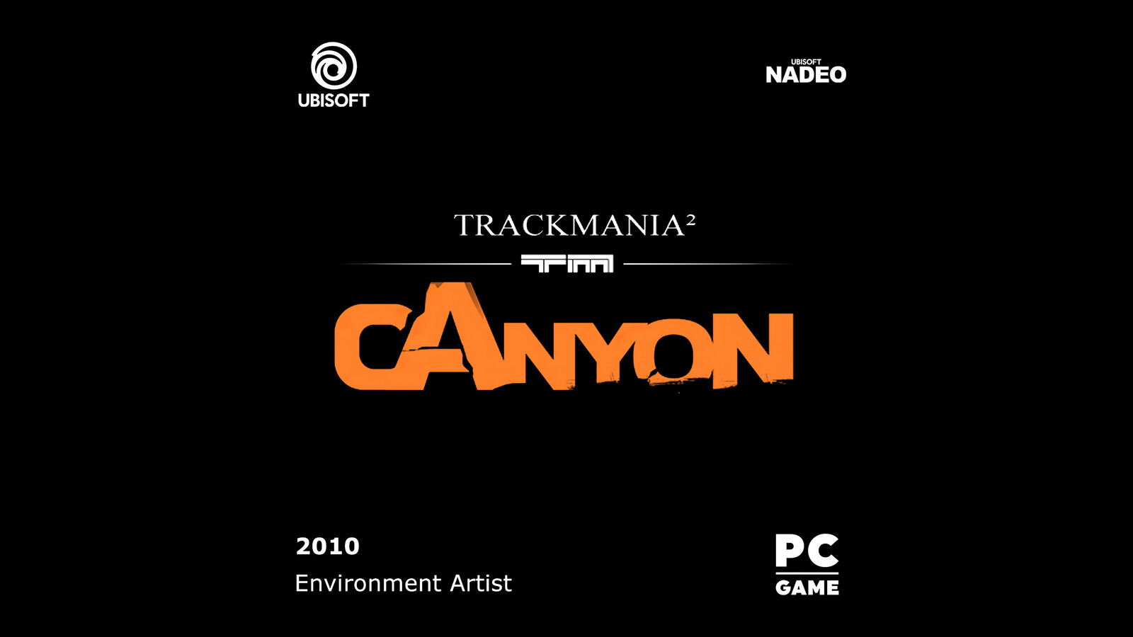 TrackMania²-Canyon_Logo