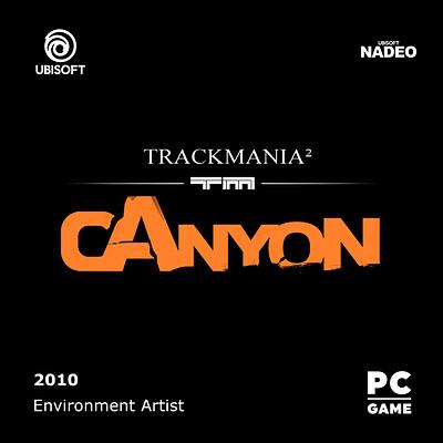TrackMania²-Canyon_Logo