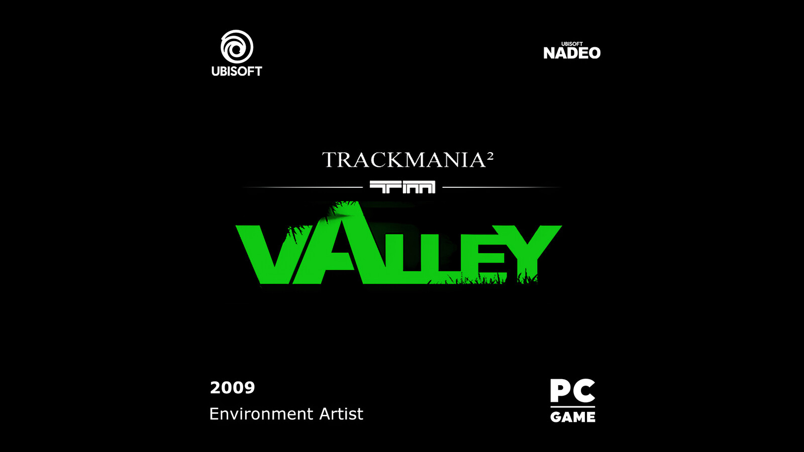 Trackmania 2 : Valley Logo