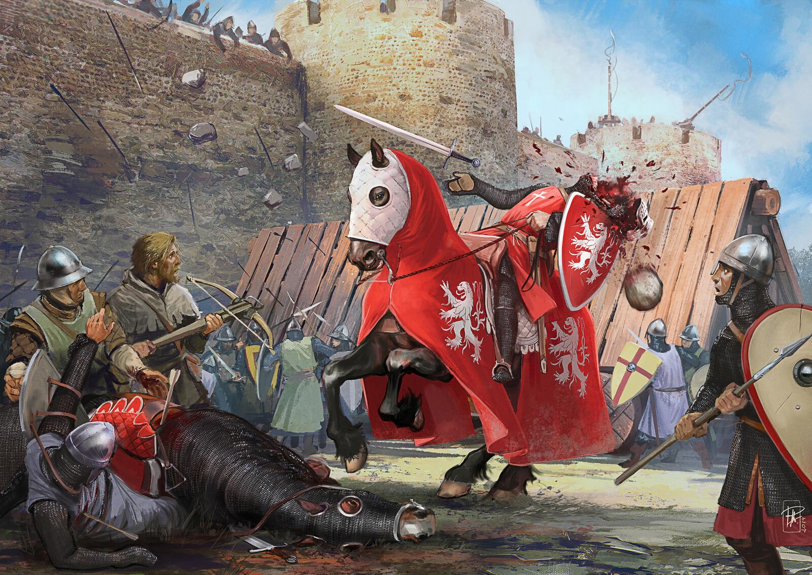 The Death of Simon de Monfort