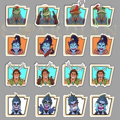 Amol lokare emotes 01