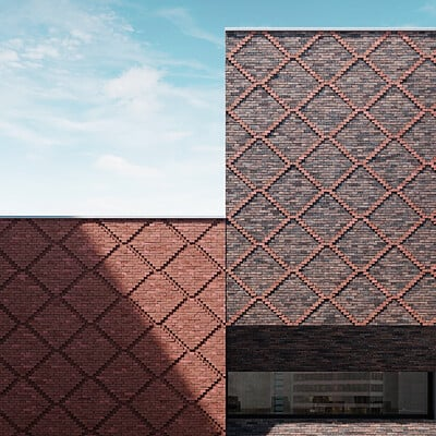 Brick Pattern Renders