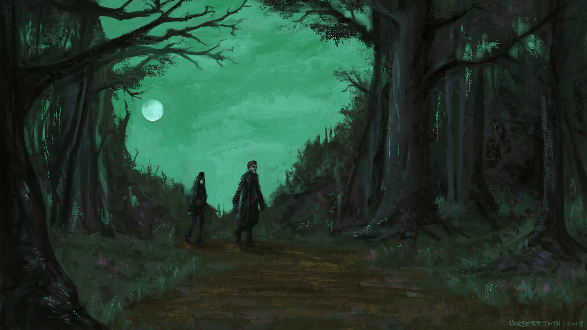 The walk from Deathknell