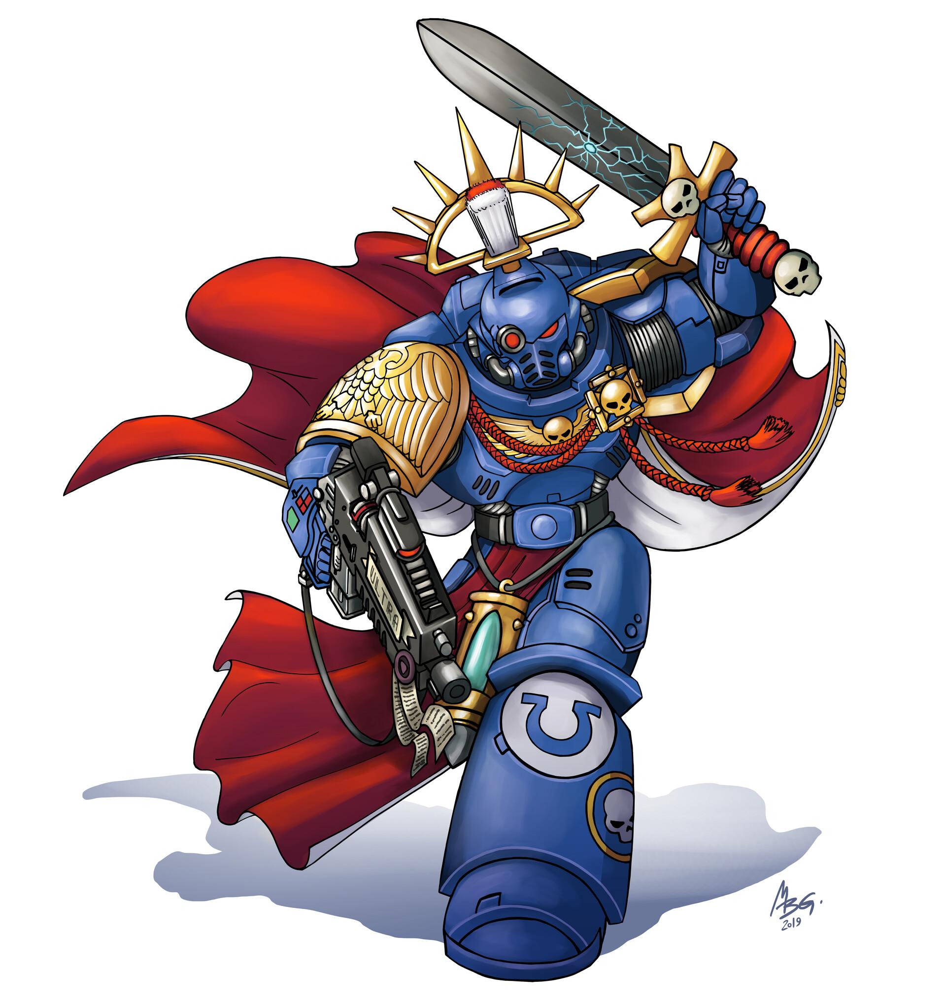 Warhammer 40k Space Marines Primaris Captain