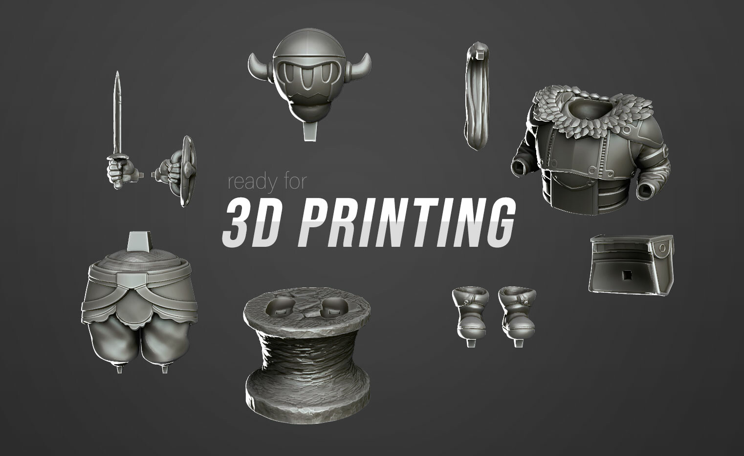 pieces for 3d printing