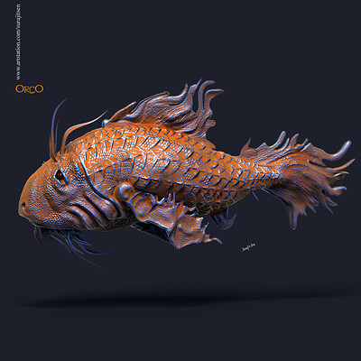 Surajit sen orco digital sculpture surajitsen nov2019