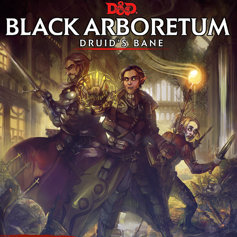 D&D BLACK ARBORETUM : Campaign Cover Artwork