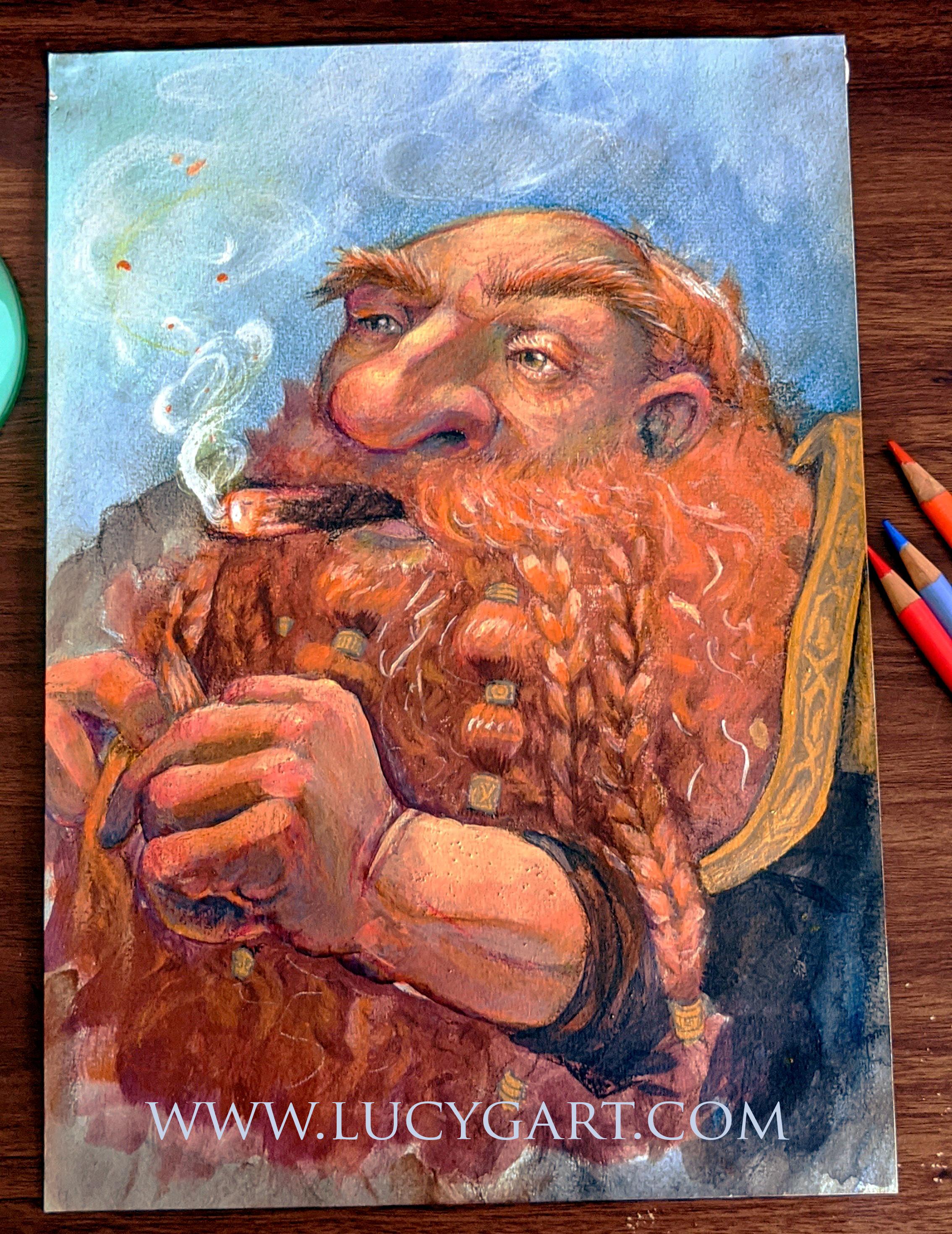 dwarf beard.