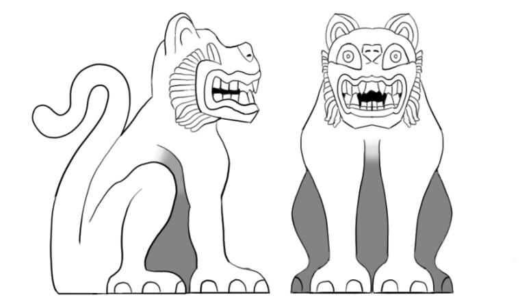 Mayan Jaguar Statue turnaround - 27/11/2019 - Brian