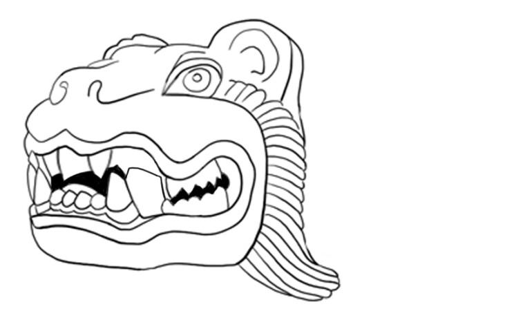 Mayan Jaguar Statue 3/4 - 27/11/2019 - Brian
