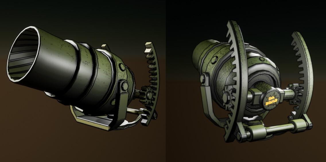 Mortar Cannon - Marc