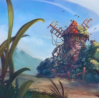 Andrea casciaro old windmill