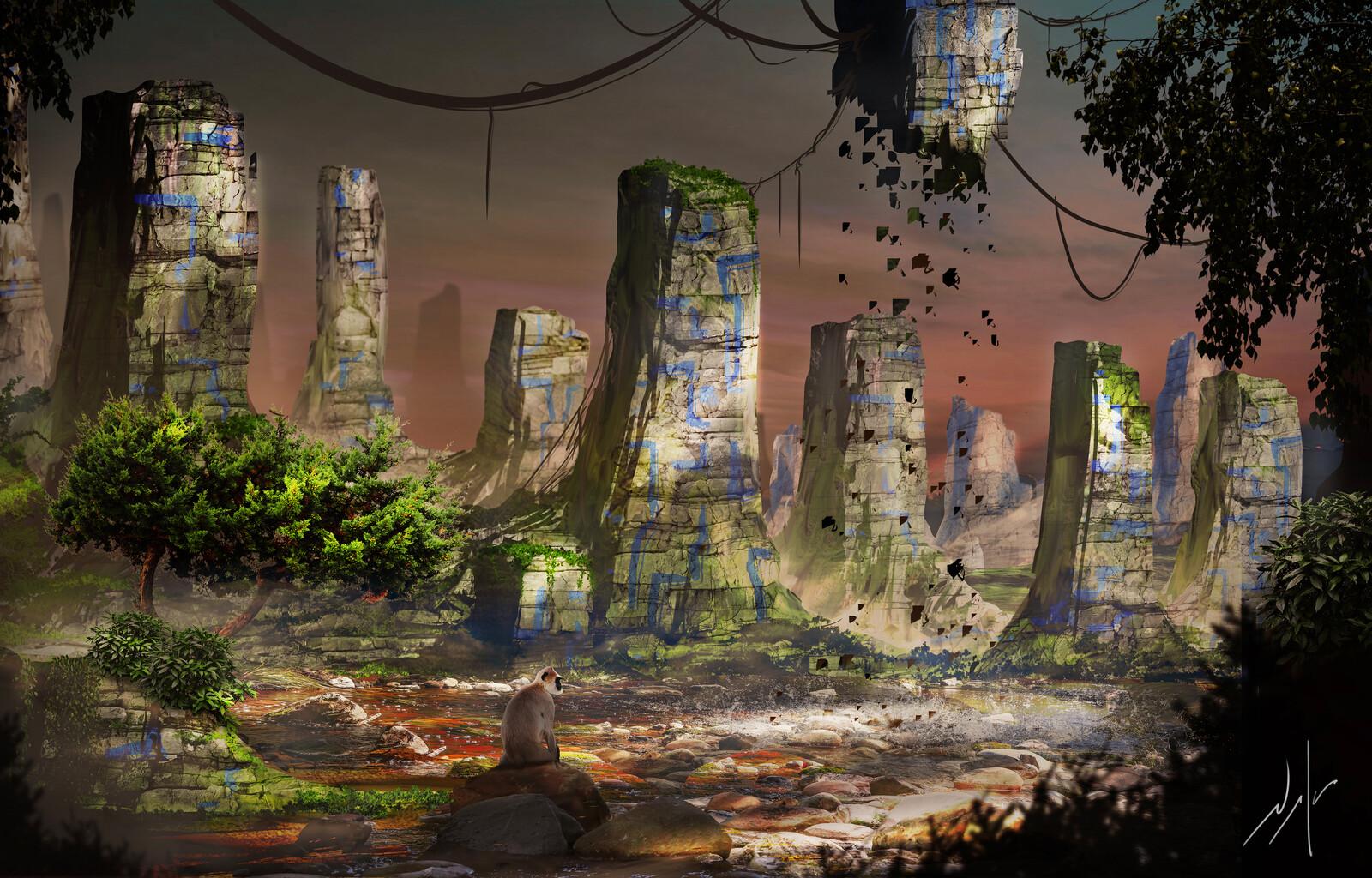 Ancient Jungle Ruins