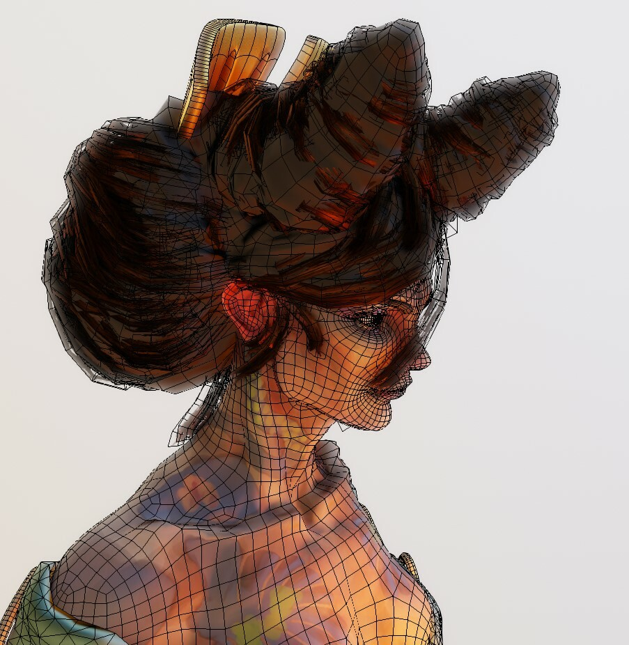 Hair-Card Placement & Topology