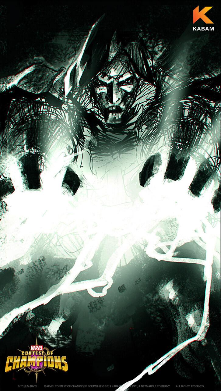Doctor Doom wallpaper sketch B